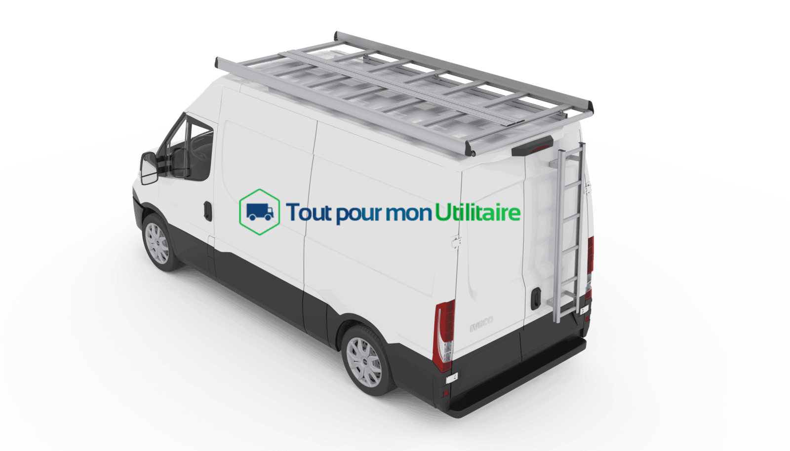 galerie aluminium iveco new daily 12m3 pour v hicule utilitaire. Black Bedroom Furniture Sets. Home Design Ideas
