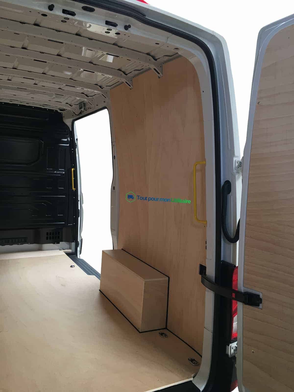 kit d 39 habillage int rieur bois volkswagen nouveau crafter l3h3 1 plc pour v hicule utilitaire. Black Bedroom Furniture Sets. Home Design Ideas